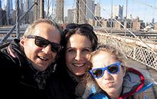 New York City with kids Brooklyn Bridge
