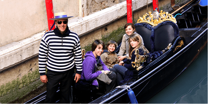 venice with kids travel
