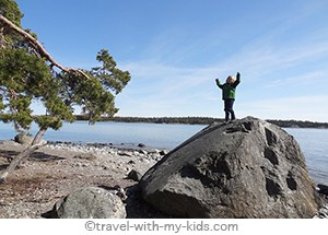 stockholm-with-kids- Nynashamn-beach