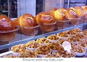 travel-naples-with-kids-baba-pastry