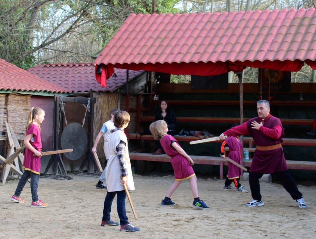Rome Gladiator School Fun And Educationnal Travel With My Kids
