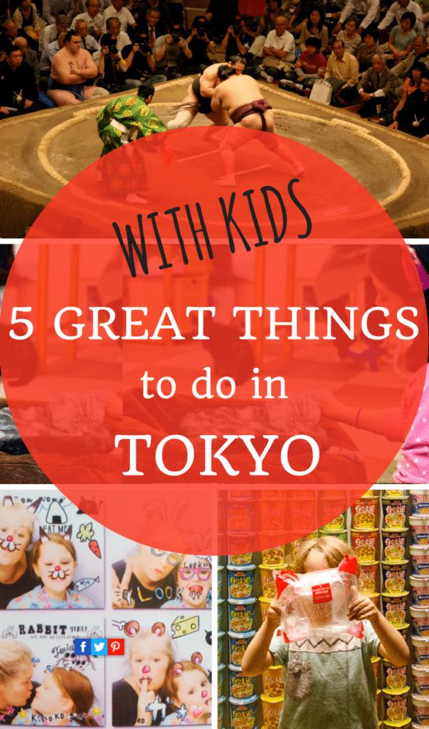 Tokyo with kids round up