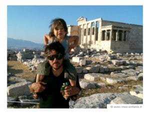Athens with kids : visiting the Acropolis