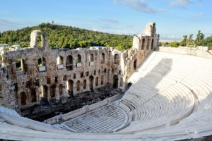 Athens with kids: Acropolis Dionysos Theater