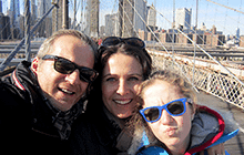 New York City with kids Brooklyn Bridge