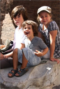 rome-with-kids-colosseum-visit