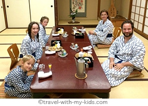 tokyo-with-kids-ryokan-diner