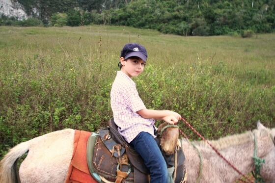 cuba-with-kids-horse-ride
