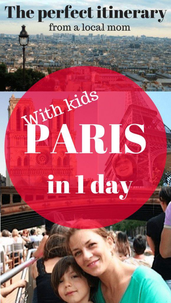 Paris with kids in 1 day